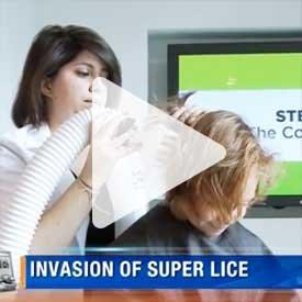 Invasion of super lice video still